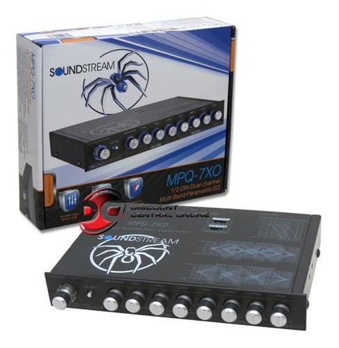 nuevo soundstream 1/2 din eq coche audio ecalizador de 7 ba