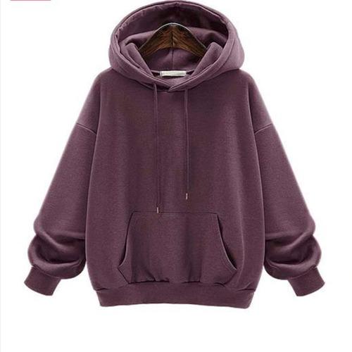 nuevo suéter con capucha acolchado de gran tamaño