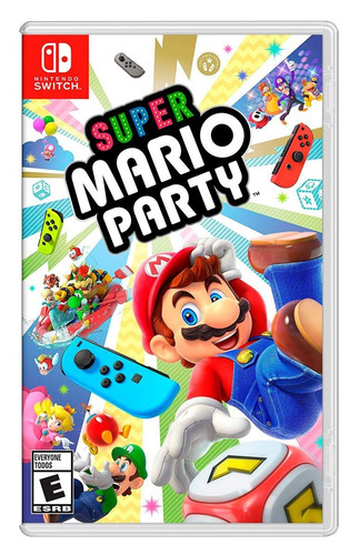 nuevo super mario party nintendo switch version en español