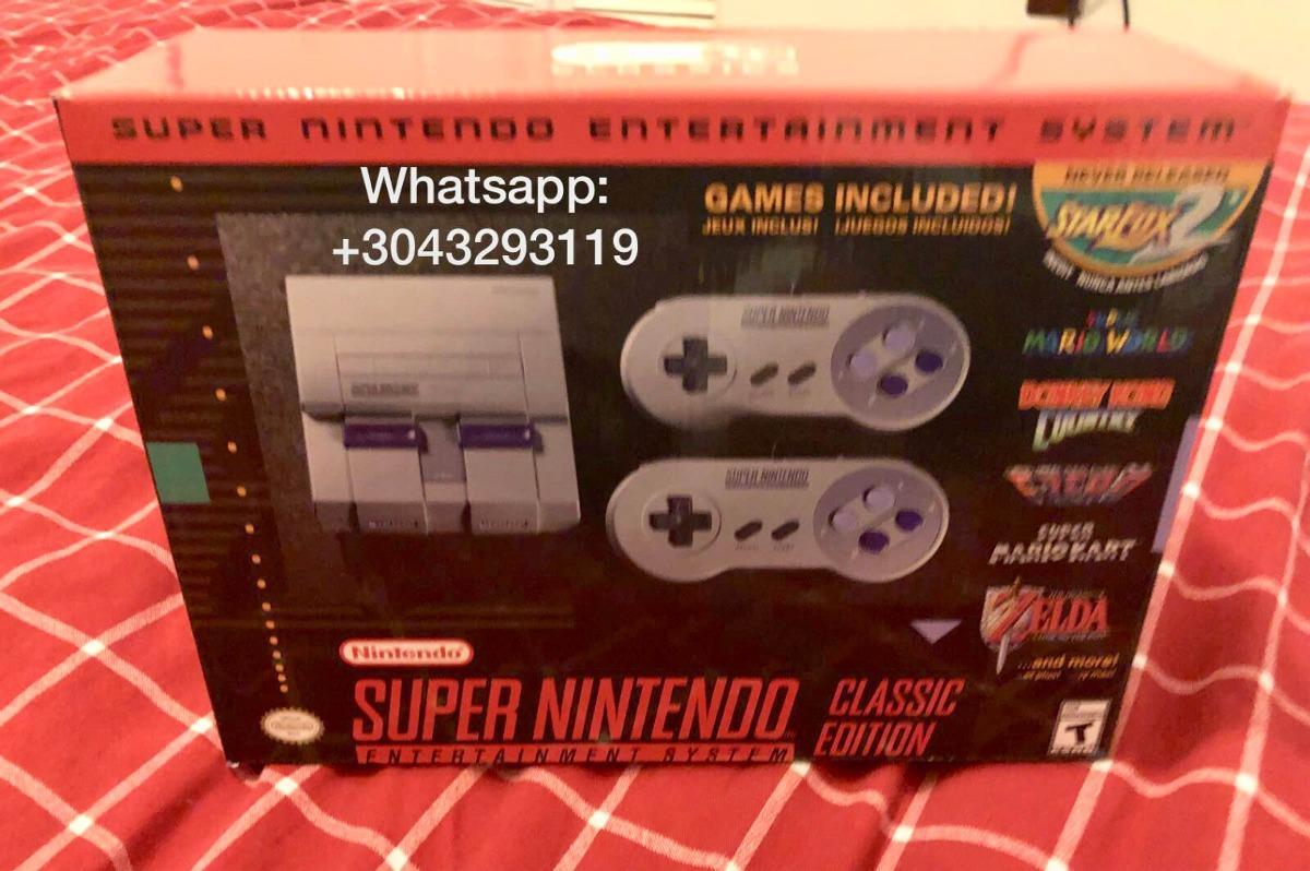 Nuevo Super Nintendo Nes Mas De 20 Juegos Incluidos 420 000 En