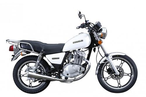 nuevo suzuki gn 125 f 30 custom cafe racer 0km urquiza motos