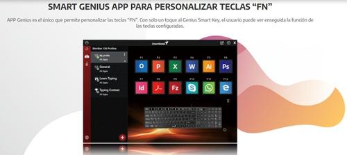 nuevo teclado slimstar 126 usb genius en español (letra ñ)