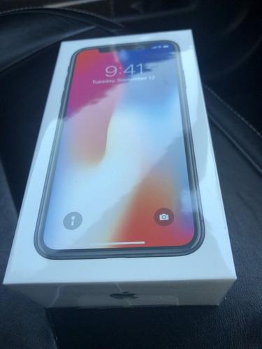 nuevo teléfono móvil apple iphone x 256gb- space grey