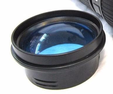 nuevo termo forma de lente de camara 480 ml blanco negro
