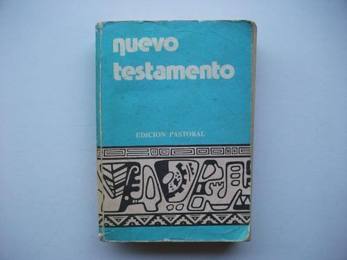 nuevo testamento - edición pastoral - san pablo