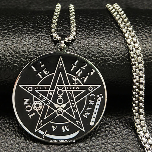 nuevo tetragramaton premium  acero + pulsera de hematita.-