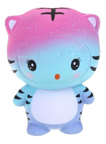 nuevo tigre lento rebote squishy juguete pu simulación pan e