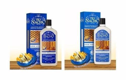 nuevo tio nacho shampoo y acondicionador engrosador