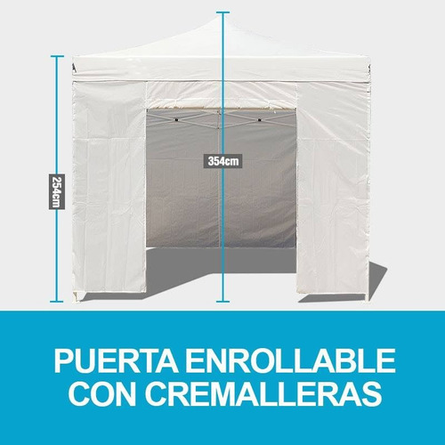 Nuevo toldo 3x3 metros plegable impermeabl pvc paredes for Toldo plegable 3x3