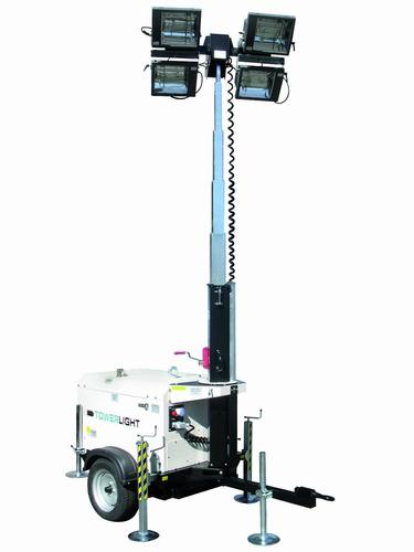 nuevo! torre de luz y generador d 4,000m 9kva monofasico