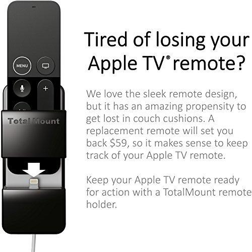 nuevo - totalmount apple tv remote holder (protección y ca