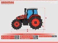 nuevo tractor hanomag tr115