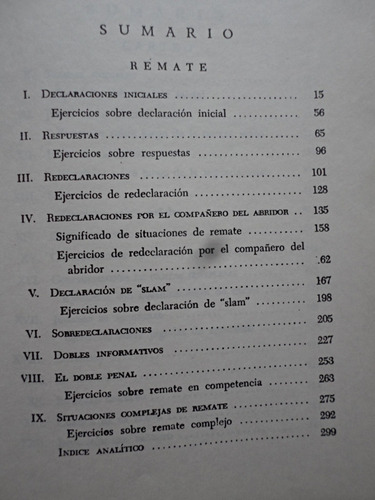 nuevo tratado completo de bridge contrato - charles h. goren