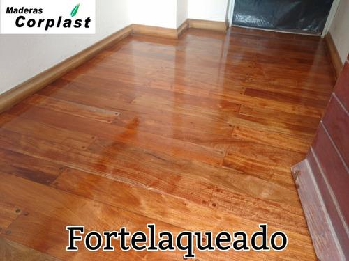 nuevo tratamiento para pisos de madera..... fortelaqueado!!!