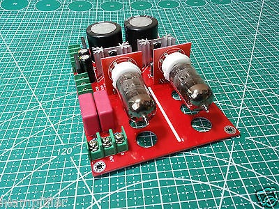 Nuevo Tubo De Pre-amp Diy Amplificador Kit 6n2 Srpp Para