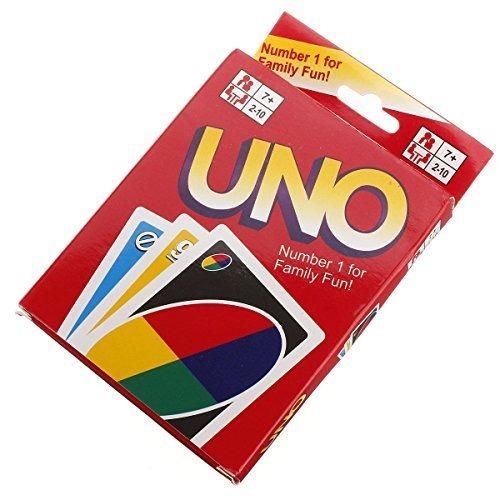 Nuevo Uno Standard 108 Juego De Cartas Divertidas Inglesas