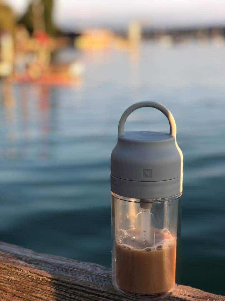 Nuevo! Vaso Nespresso Nomad Touch Mug! Local Belgrano Envio ...