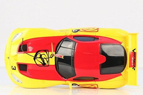 nuevo vehículo bright f /f viper rc (escala 1:16), amarillo