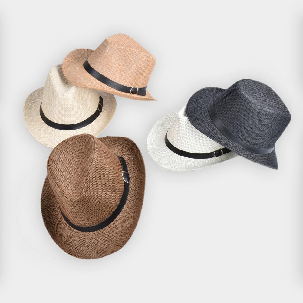 ffed07003574 Nuevo Verano Para Hombres, Sombrero De Paja, Ala Ancha, Play