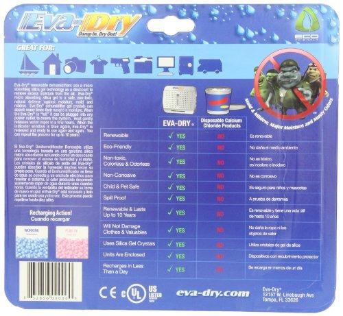 nuevo y mejorado eva-seca e-333 renovables mini deshumidifi