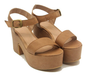 100Cuero Vacuno Y Faja Pulcera Nuevo Mujer Sandalia Zapato N8nw0m