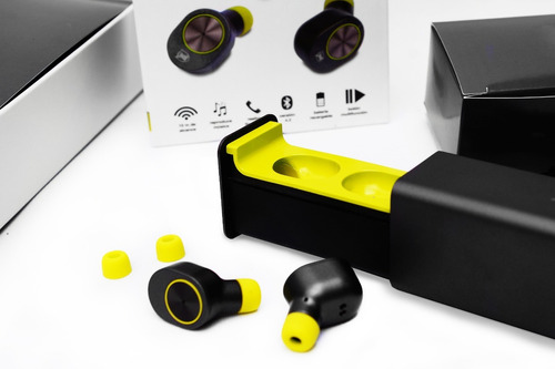 nuevos audifonos totalmente inalambricos manos libres kaiser