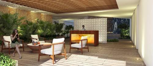 nuevos departamentos en el centro de playa del carmen