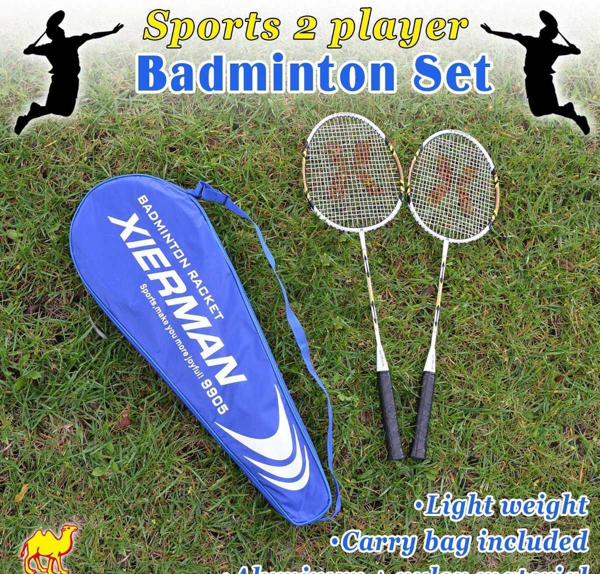 Nuevos Deportes 2 Raqueta De Bádminton Jugador Situado -   49.990 en ... 4d2eca6316023
