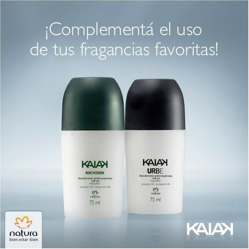 nuevos desodorante kaiak de natura en oferta!!!!!!