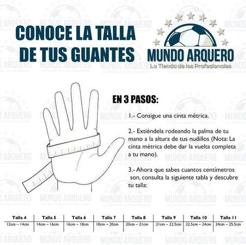 nuevos guantes para portero modelo rinat uno alpha con varillas - envio y personalizado gratis - mundo arquero