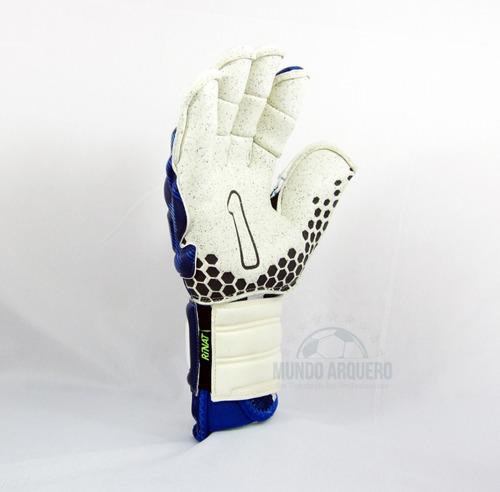 nuevos guantes pro para portero mod rinat asimetrik hunter con varillas - envio y personalizado gratis - mundo arquero