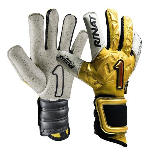 nuevos guantes profesionales para portero modelo rinat fenix gold - envio y personalizado gratis - mundo arquero