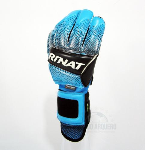 nuevos guantes profesionales para portero modelo rinat kancerbero quantum - envio y personalizado gratis - mundo arquero