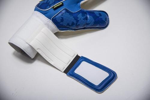 nuevos guantes semi para portero modelo rinat asimetrik hunter verde - envio y personalizado gratis - mundo arquero
