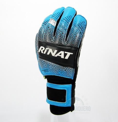 nuevos guantes semi portero mod rinat kancerbero quantum turf con varillas - envio y personalizado gratis- mundo arquero