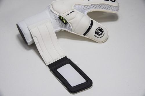 nuevos guantes semi portero mod rinat uno premier golden gk con varillas - envio y personalizado gratis - mundo arquero