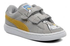 Nuevos Original Zapatos Tenis Niños Puma Tom Y Jerry Velcro