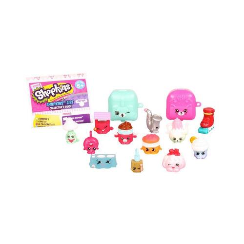 nuevos! shopkins serie 5 pack 12 figuras + mochilas
