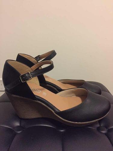 nuevos! zapatos del barco negros 38!