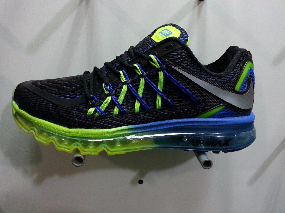 Nuevos Zapatos Nike Air Max 2015 Para Caballero - Bs. 157