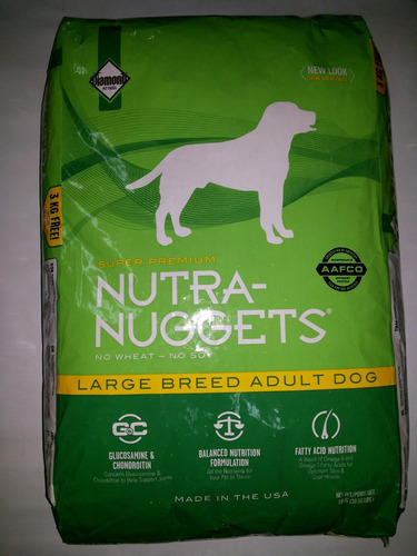 nuggets adulto nutra