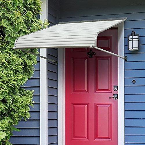 nuimage 40425toldosmarquesina aluminio para puerta con e