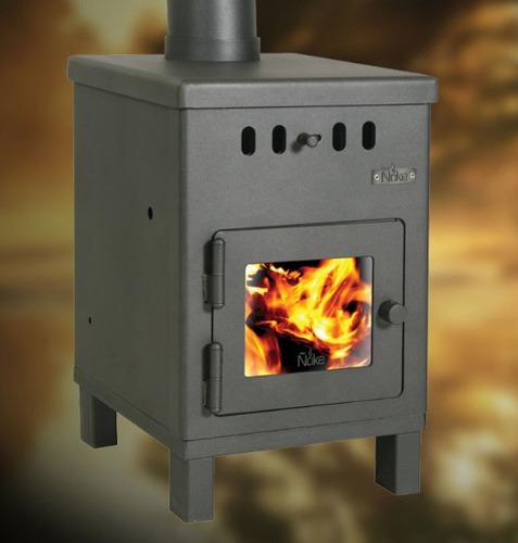 ñuke calefactor  a leña  ecológico cabaña ii 6000 kcal.
