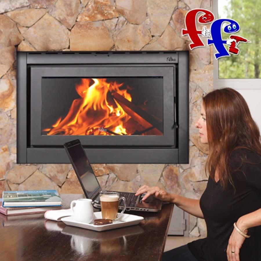 Estufa calefactor insertable uke a le a mod lanin u s 2 for Lanin muebles
