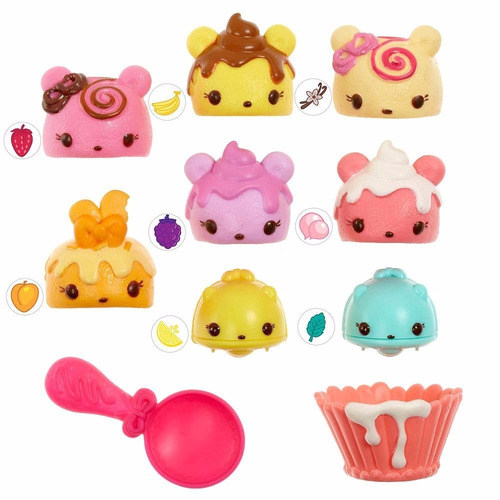 num noms series 1 cupcake party pack playset
