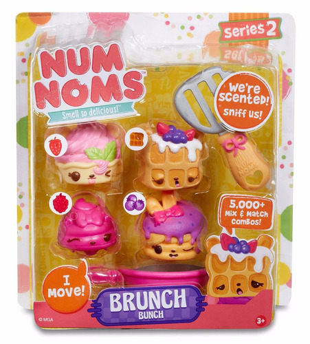 num nomstm series 2 scented 4 pack brunch bunch
