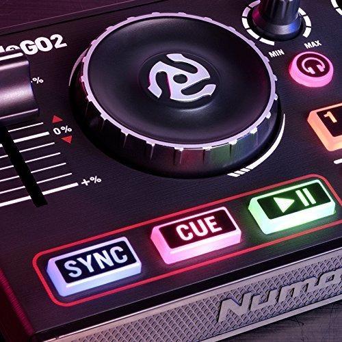 numark dj2go 2 controlador dj mixer portatil serato lite