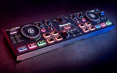 numark dj2go 2 usb dj controller mixer mezcladora consola