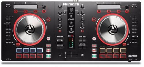 numark mixtrack pro 3 mixer controlador dj serato