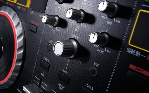 numark mixtrack pro dj controladora mixer tornamesa led djs